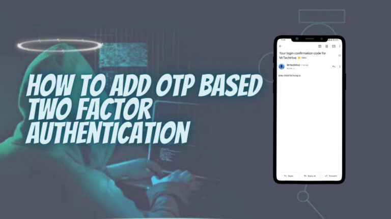 Add OTP Based Two Factor Authentication In WordPress